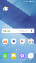 Configurar el equipo para navegar en modo de red LTE - Samsung Galaxy A3 2017 (A320) - Passo 1