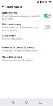 Configurar internet - LG G6 - Passo 7