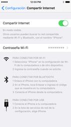 Configurar para compartir el uso de internet - Apple iPhone 7 (iOS10) - Passo 15