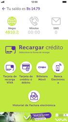 Recarga con tarjeta de crédito/débito - iOS VIVA APP - Passo 4