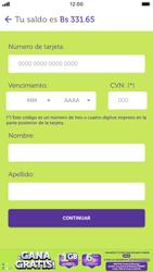 Pago de facturas con tarjeta de crédito/débito - iOS VIVA APP MÓVIL - Passo 11