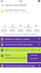 Suscripción y desuscripción de una bolsa de MB - iOS VIVA APP - Passo 18