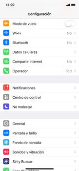 Configurar el equipo para navegar en modo de red LTE - Apple iPhone X - Passo 3