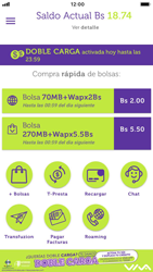 Recarga con tarjeta de crédito/débito - iOS VIVA APP - Passo 3