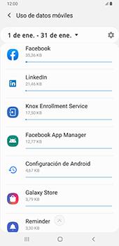 Verificar el uso de datos por apps - Samsung Galaxy A9 (2018) - Passo 8