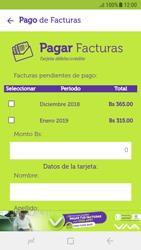 Pago de facturas con tarjeta de crédito/débito - Android VIVA APP - Passo 6
