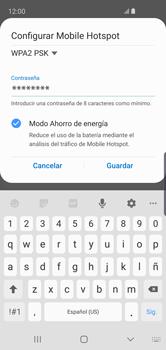 Configurar para compartir el uso de internet - Samsung Galaxy S10e - Passo 11