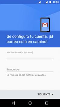 Configurar el correo electrónico - Motorola Moto G4 - Passo 11