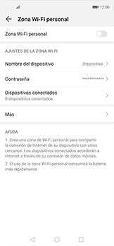 Configurar para compartir el uso de internet - Huawei Nova 5T - Passo 4