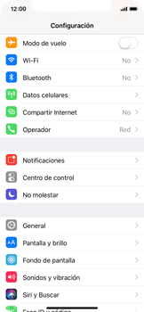 Configurar internet - Apple iPhone X - Passo 3