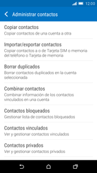 Sincronizar contactos con una cuenta Gmail - HTC One M9 - Passo 8
