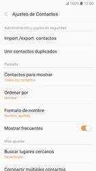 Sincronizar contactos con una cuenta Gmail - Samsung Galaxy A5 2017 (A520) - Passo 10