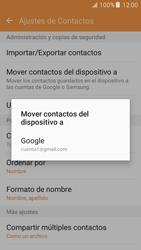 Sincronizar contactos con una cuenta Gmail - Samsung Galaxy J5 2016 (J510) - Passo 7