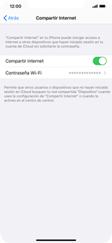Configurar para compartir el uso de internet - Apple iPhone 11 - Passo 8