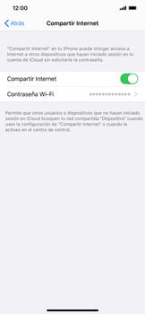 Configurar para compartir el uso de internet - Apple iPhone 11 - Passo 7