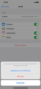 Sincronizar contactos con una cuenta Gmail - Apple iPhone 11 - Passo 6