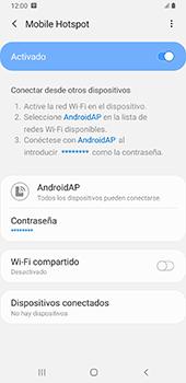 Configurar para compartir el uso de internet - Samsung Galaxy A9 (2018) - Passo 13