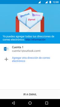 Configurar el correo electrónico - Motorola Moto G4 - Passo 12