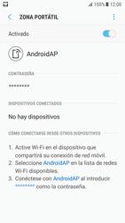 Configurar para compartir el uso de internet - Samsung Galaxy S7 (G930) - Passo 12