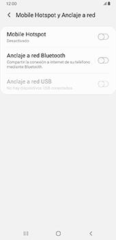Configurar para compartir el uso de internet - Samsung Galaxy J8 - Passo 6