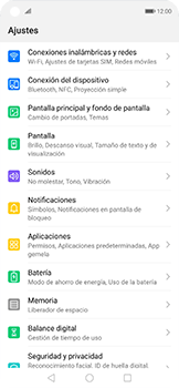 Configurar para compartir el uso de internet - Huawei Nova 5T - Passo 2