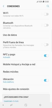 Configurar para compartir el uso de internet - Samsung Galaxy S9+ - Passo 4