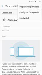 Configurar para compartir el uso de internet - Samsung Galaxy A3 2017 (A320) - Passo 8