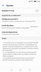 Configurar para compartir el uso de internet - Huawei P10 Lite - Passo 6