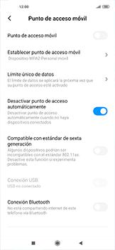 Configurar para compartir el uso de internet - Xiaomi Mi 10 5G - Passo 9