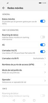Configurar internet - Huawei Nova 5T - Passo 6