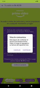 Suscripción de Amazon Prime por VIVA APP - Android VIVA APP - Passo 7