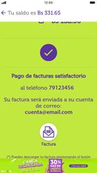 Pago de facturas con tarjeta de crédito/débito - iOS VIVA APP MÓVIL - Passo 13