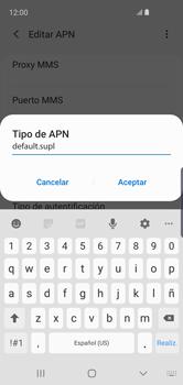 Configurar internet - Samsung Galaxy S10e - Passo 14