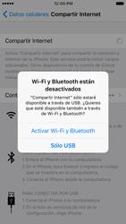 Configurar para compartir el uso de internet - Apple iPhone 6s (iOS9) - Passo 12