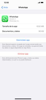 Cómo desinstalar aplicaciones - Apple iPhone 11 - Passo 6