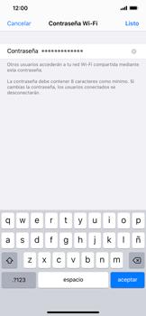 Configurar para compartir el uso de internet - Apple iPhone 11 - Passo 4