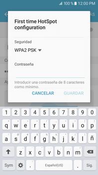 Configurar para compartir el uso de internet - Samsung Galaxy J7 2016 (J710) - Passo 8