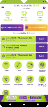 Guía de Uso VIVA APP Prepago - Android VIVA APP MÓVIL - Passo 8