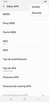 Configurar internet - Samsung Galaxy A9 (2018) - Passo 16