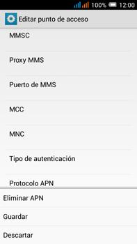 Configurar internet - Alcatel Pop C9 - Passo 18