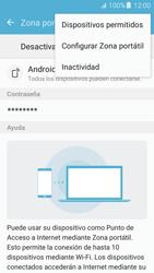 Configurar para compartir el uso de internet - Samsung Galaxy J5 2016 (J510) - Passo 7