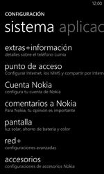 Configurar internet - Nokia Lumia 1020 - Passo 6