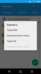 Sincronizar contactos con una cuenta Gmail - Sony Xperia Z5 Compact - Passo 6
