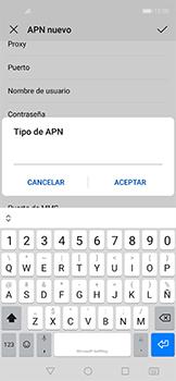 Configurar internet - Huawei Nova 5T - Passo 13