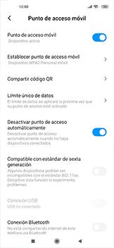 Configurar para compartir el uso de internet - Xiaomi Mi 10 5G - Passo 10