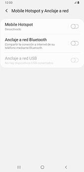 Configurar para compartir el uso de internet - Samsung Galaxy A9 (2018) - Passo 6