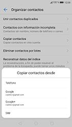 Sincronizar contactos con una cuenta Gmail - Huawei P10 Lite - Passo 6