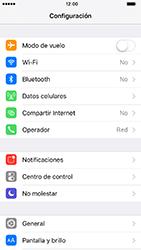 Configurar el equipo para navegar en modo de red LTE - Apple iPhone 7 (iOS10) - Passo 3