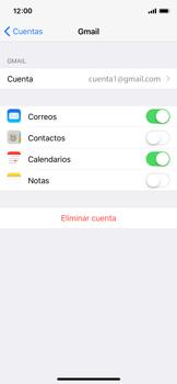 Sincronizar contactos con una cuenta Gmail - Apple iPhone X - Passo 5