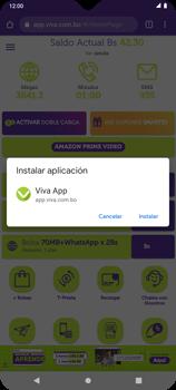 Usa VIVA APP sin que ocupe espacio en tu teléfono - Android VIVA APP MÓVIL - Passo 13